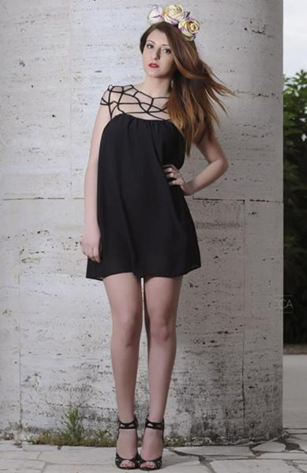 dress black Choies