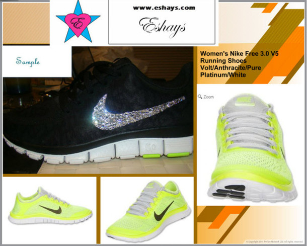 nike free 5.0 work out shoes- stylish nike with swar women s nike