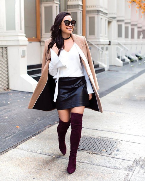 2aafbc49f3 skirt, tumblr, leather skirt, black leather skirt, black skirt, mini ...