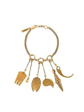 charm bracelet metallic jewels