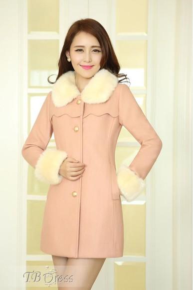 jacket blouse cardigan beige rose tbdress-club tbdress