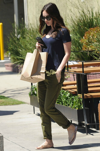 pants megan fox top