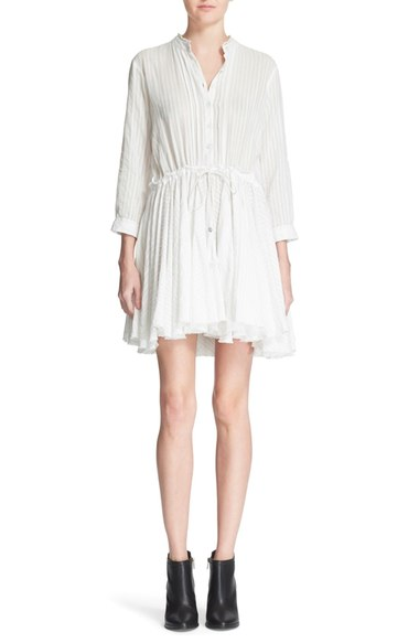 Zadig & Voltaire 'Ranil' Cotton Shirtdress | Nordstrom