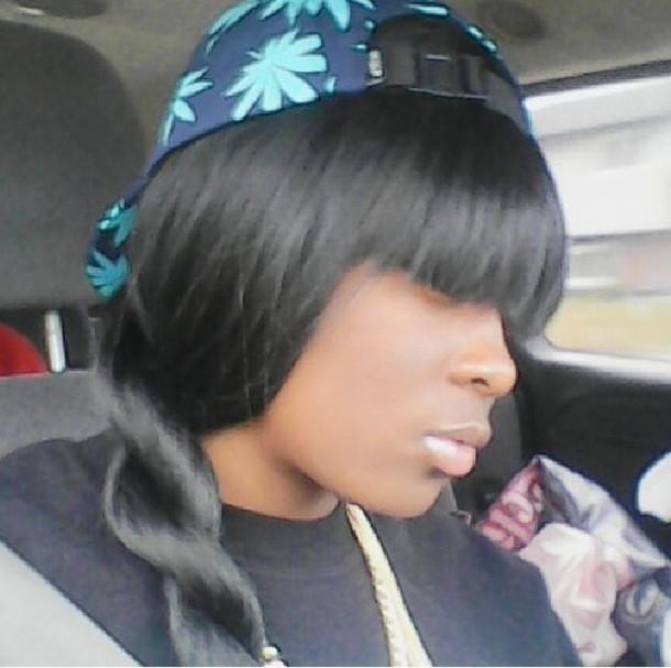 hat blue huf fashion