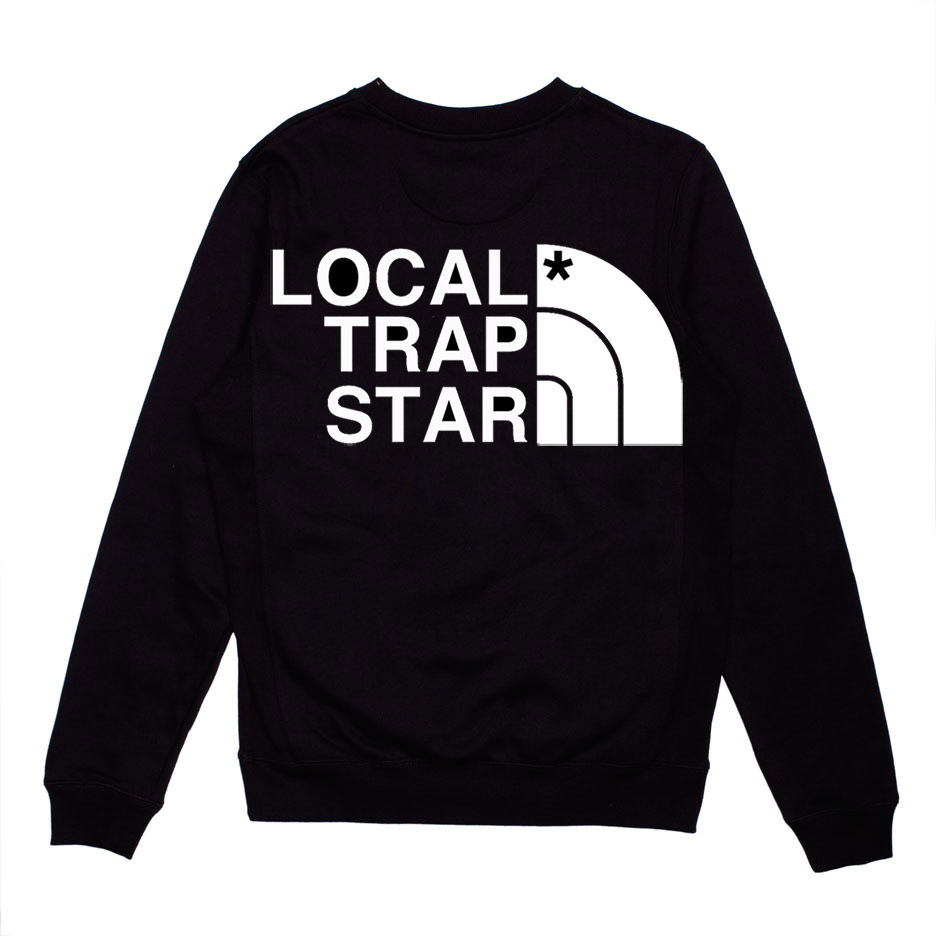 Local Trap Star — Local Trap Star Crewneck (Black)