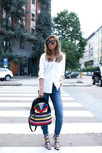 the fashion fruit blogger shoes shirt sunglasses