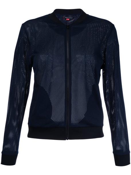 Perfect Moment jacket bomber jacket mesh women blue