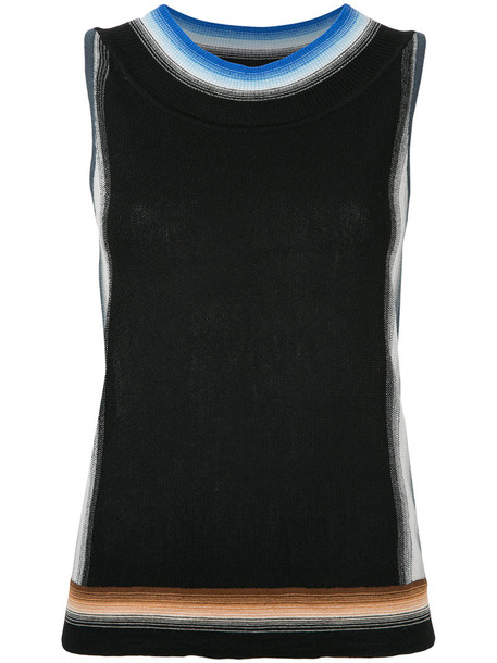 Missoni women black wool top