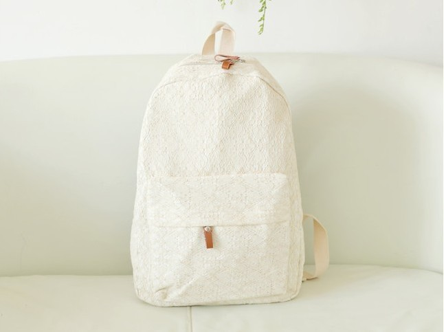 Pretty Lace Backpack, Backpack For ..