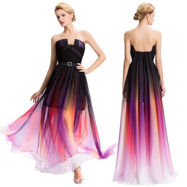 6cd6bde40a8 dress love prom prom dress gradient graduation graduation dress graduation  dresses ootn ootd ootdfash ootd dress