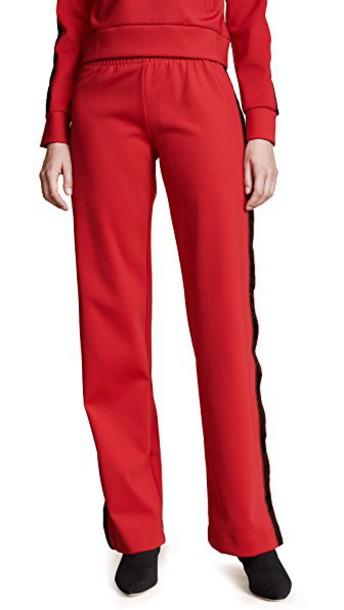 M I S B H V red pants