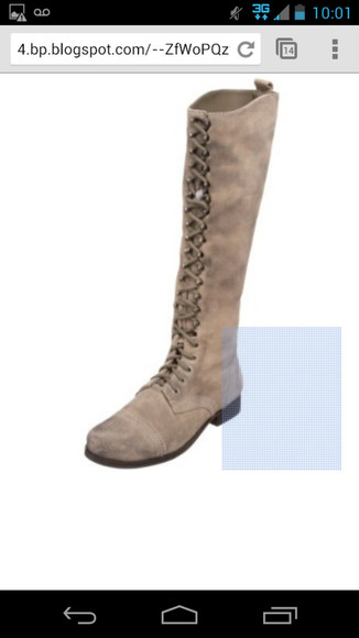 shoes boots tie up nine west beige shoes