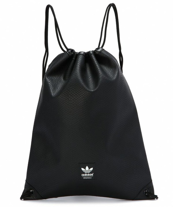 32d4aac61757 Alexander Wang | Black 'wallie' Lamb Leather Gym Sack Backpack for ...