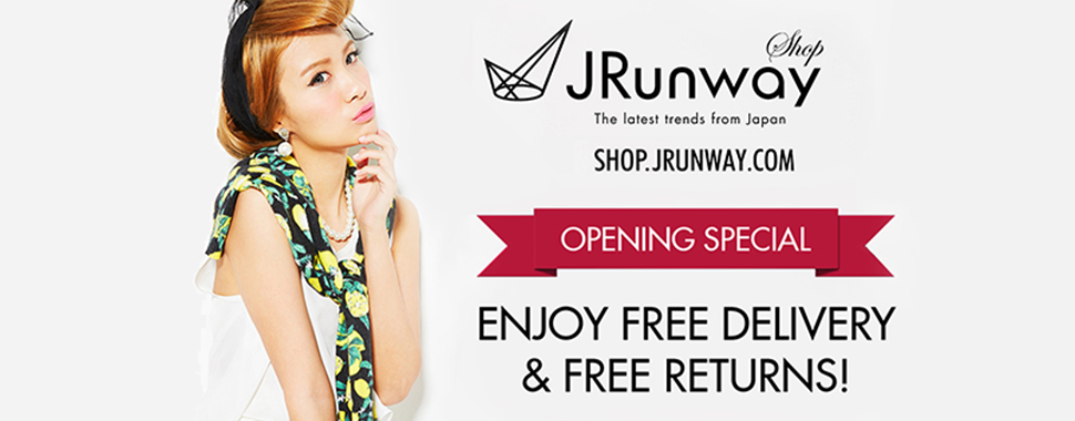 Shop JRunway Online   The latest trends from Japan