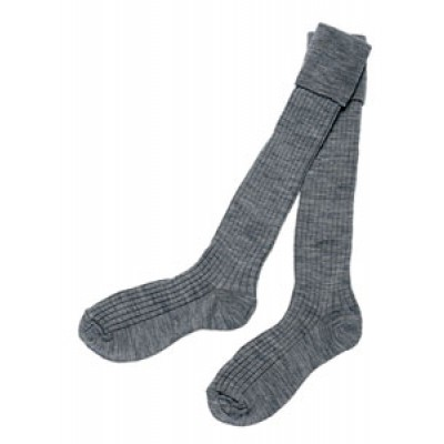 Boys turnover top school socks