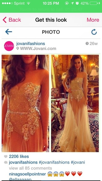 dress jovani prom dress long prom dress sheer dress