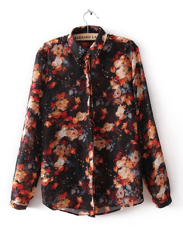 Blossom Print Shirt, the latest street style collection