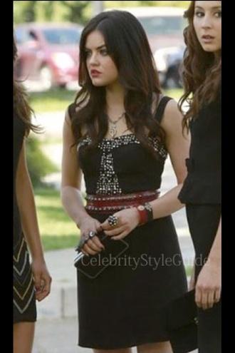 dress black dress formal dress pretty pretty little liars aria montgomery little black dress summer dress