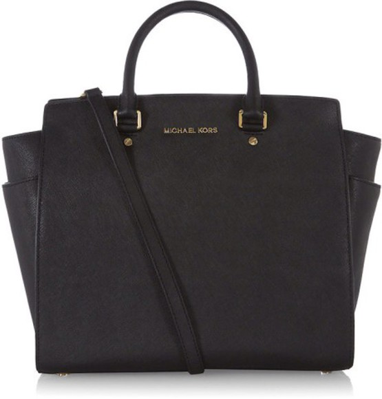 bag tote bag leather handbag michael kors satchel bag
