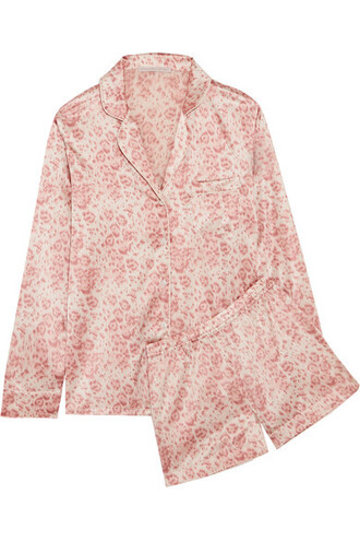 pastel print silk pink satin pastel pink underwear