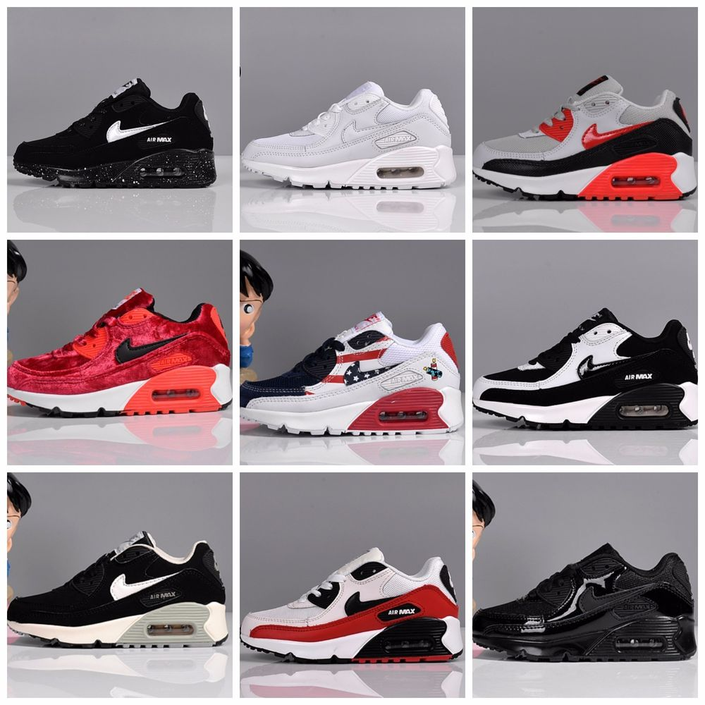 NIKE AIR MAX 90 KIDS YOUTH BOYS GIRLS CHILDREN SHOES