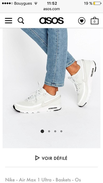 shoes nike sneakers white air max