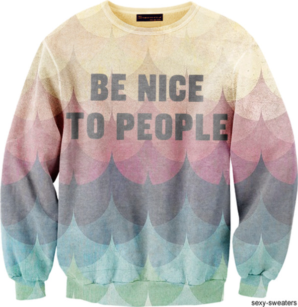 sweater sexy sweater nice rainbow people hipster cool