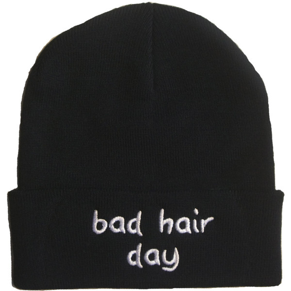 Bad Hair Day Beanie - Polyvore