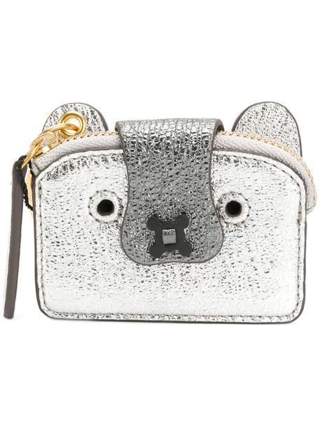 Anya Hindmarch women purse grey bag