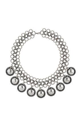 Disc Chain Collar - Topshop