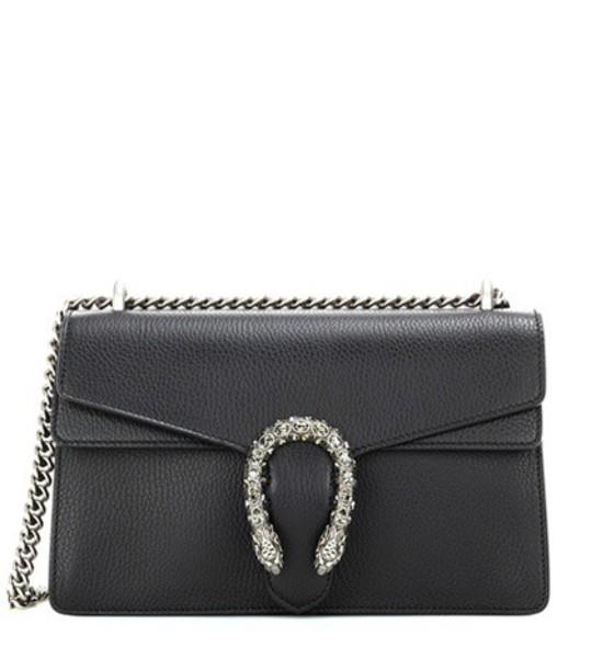 gucci bag shoulder bag leather black