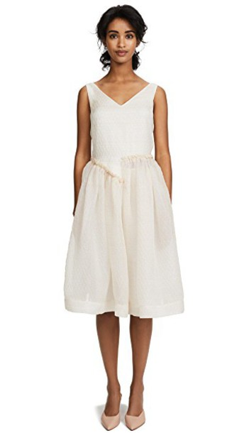 Jourden dress asymmetrical dress asymmetrical nude