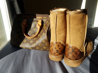 shoes ugg boots louis vuitton winter boots custom shoes lv designer inspired speedy bling swarovski