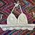 White Halter Crochet Top - Boho Festival Top