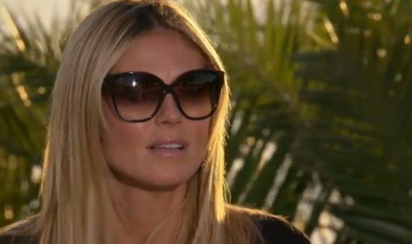 heidi klum sunglasses brown sunglasses