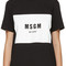 Msgm black box logo t-shirt