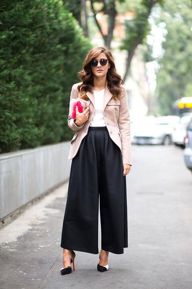 streetstyle fashion week 2014 pants