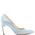 Mira pearl-heeled faille pumps