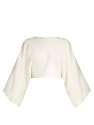 top cropped cream