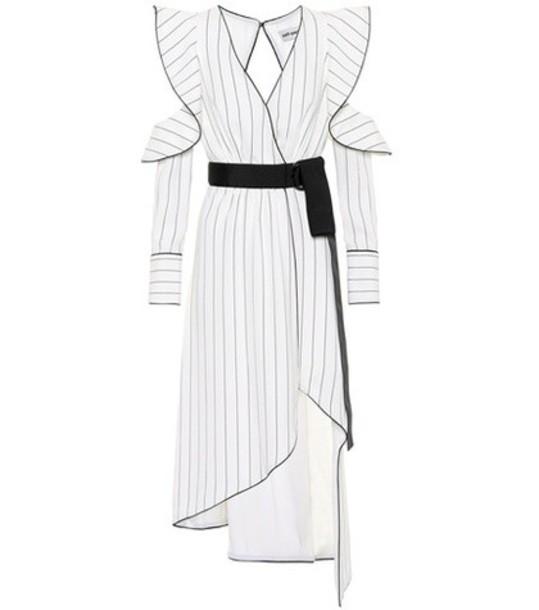 dress monochrome white