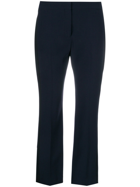 Alexander Mcqueen women blue pants
