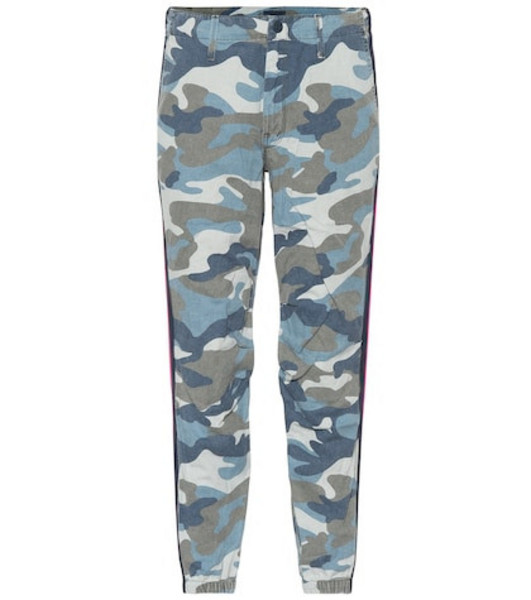 Mother Mid-rise camouflage pants
