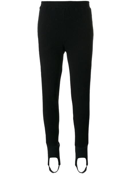 A.F.VANDEVORST leggings women spandex cotton black pants