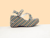 shoes,90s style,plaid,platform shoes,vintage,sandals,1990s,chunky,spice girls