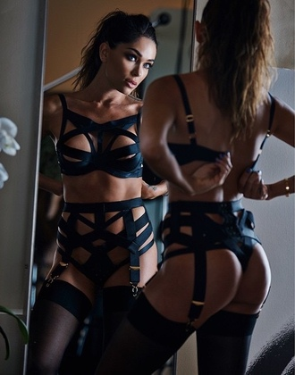 underwear strappy lingerie sexy bondage bra bondage panties garter belt strappy bra sexy lingerie