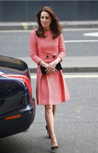dress midi dress kate middleton spring dress spring outfits pumps clutch shoes bag
