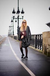 adenorah,shorts,sweater,sunglasses,bag