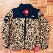 Supreme The North Face Nuptse Leopard Bubble Down Jacket Siz Xl Taxi