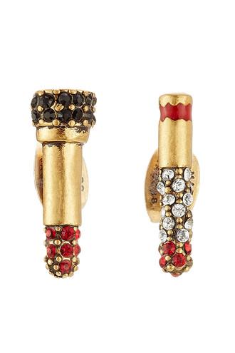 embellished earrings stud earrings gold jewels