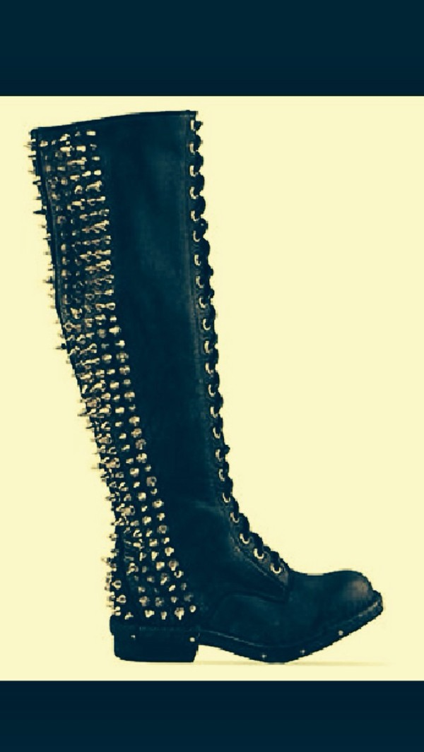 shoes jeffrey campbell spikes boots